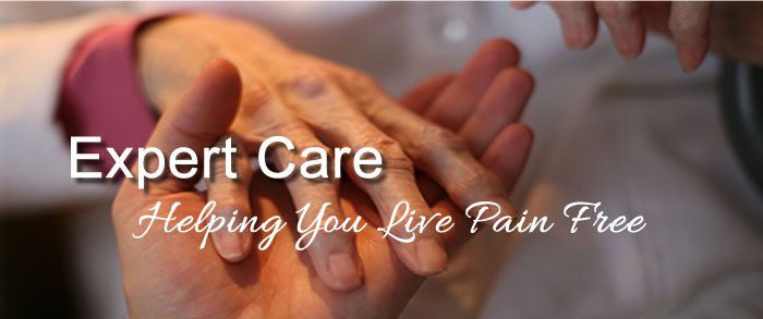 Expert care, helping you live pain free.